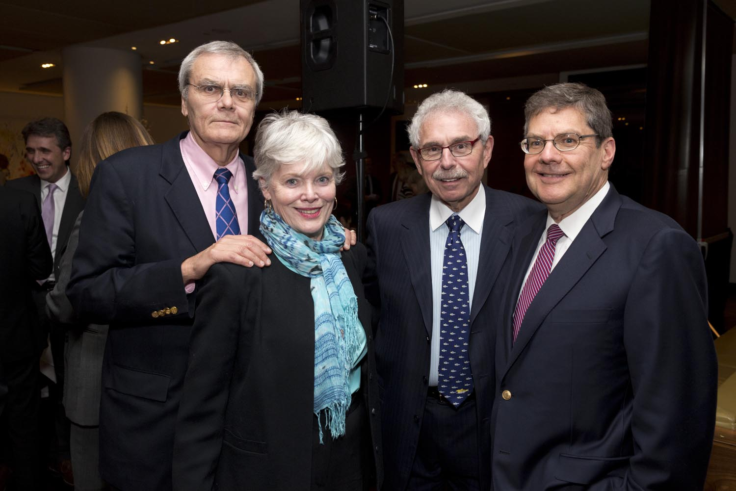 Tom & Sandy MacMillan, Dr. Bernie Gosevitz and Mr. Michael Daniher