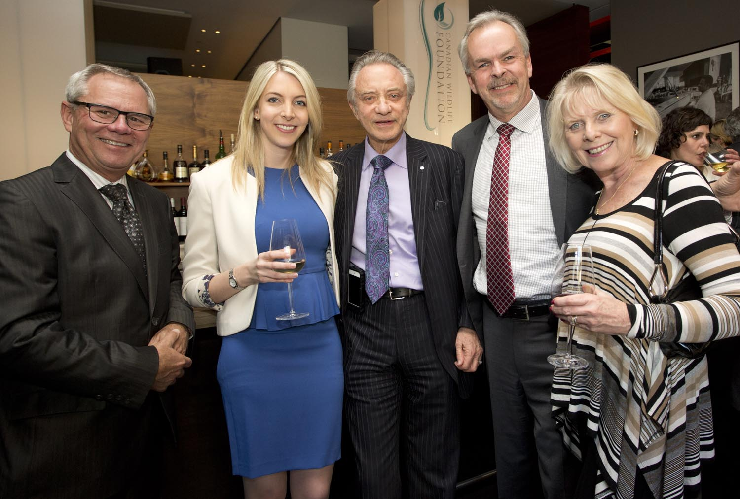 Foundation Trustee Mr. Rick Brace, Ms. Danika Zrebiec, Mr. Paul Godfrey and Bruce & Yvonne MacKay