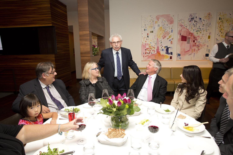 Oliva Luzny, CWF CEO Mr. Wade Luzny, Melinda & Scott Ewart, Dr. Bernie Gosevitz and Brenda & Simon Benattar