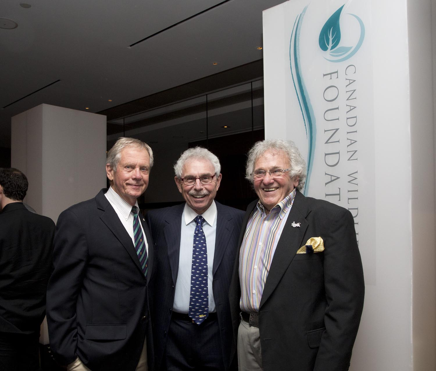 Mr. Robert Bateman, Dr. Bernie Gosevitz and Mr. Andy Donato