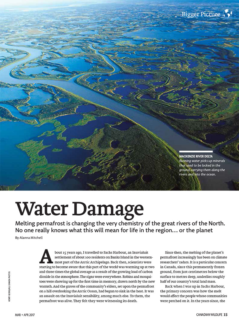 Article image with photo of pieces of land surrounded by water