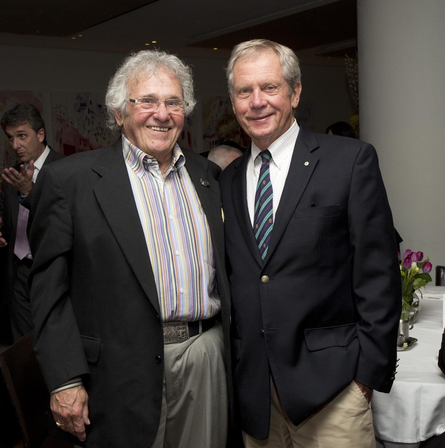 Mr. Andy Donato and Mr. Robert Bateman