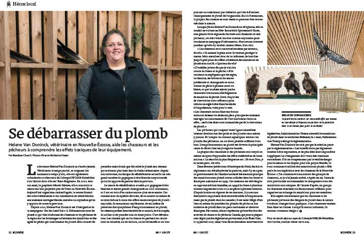 Article image with photo of Helene Van Doninck