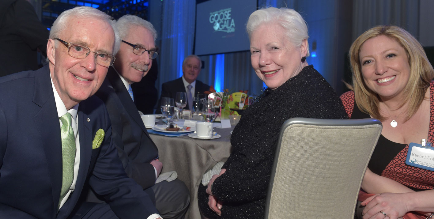 Brian Williams, Dr. Bernie Gosevitz, The Honourable Lieutenant Governor of Ontario Elizabeth Dowdeswell, and Rachel Polite