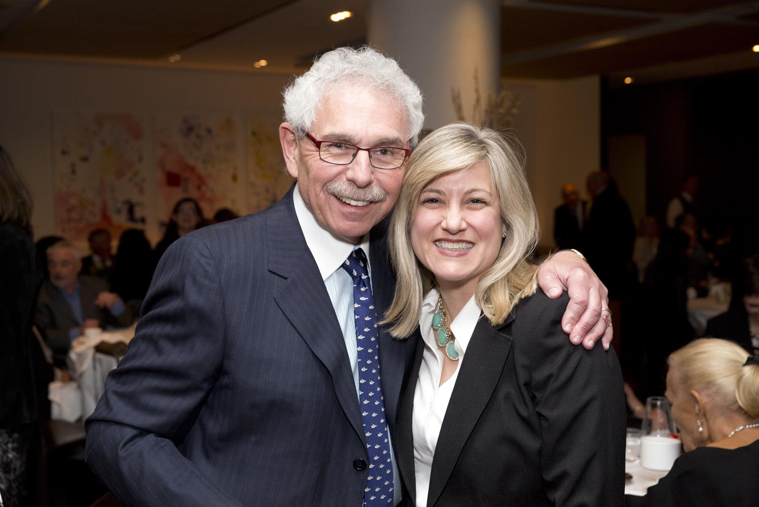 Foundation Chair, Dr. Bernie Gosevitz and Foundation Director Ms. Louise Hanlon