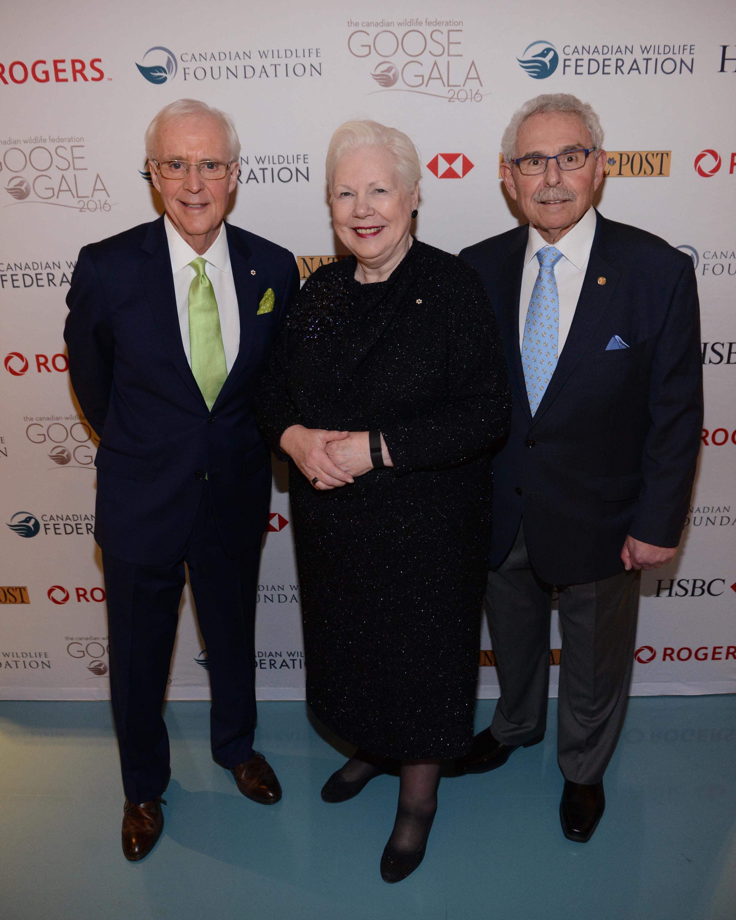 Brian Williams, Hon. Lieutenant Governor of Ontario Elizabeth Dowdeswell, Dr. Bernie Gosevitz