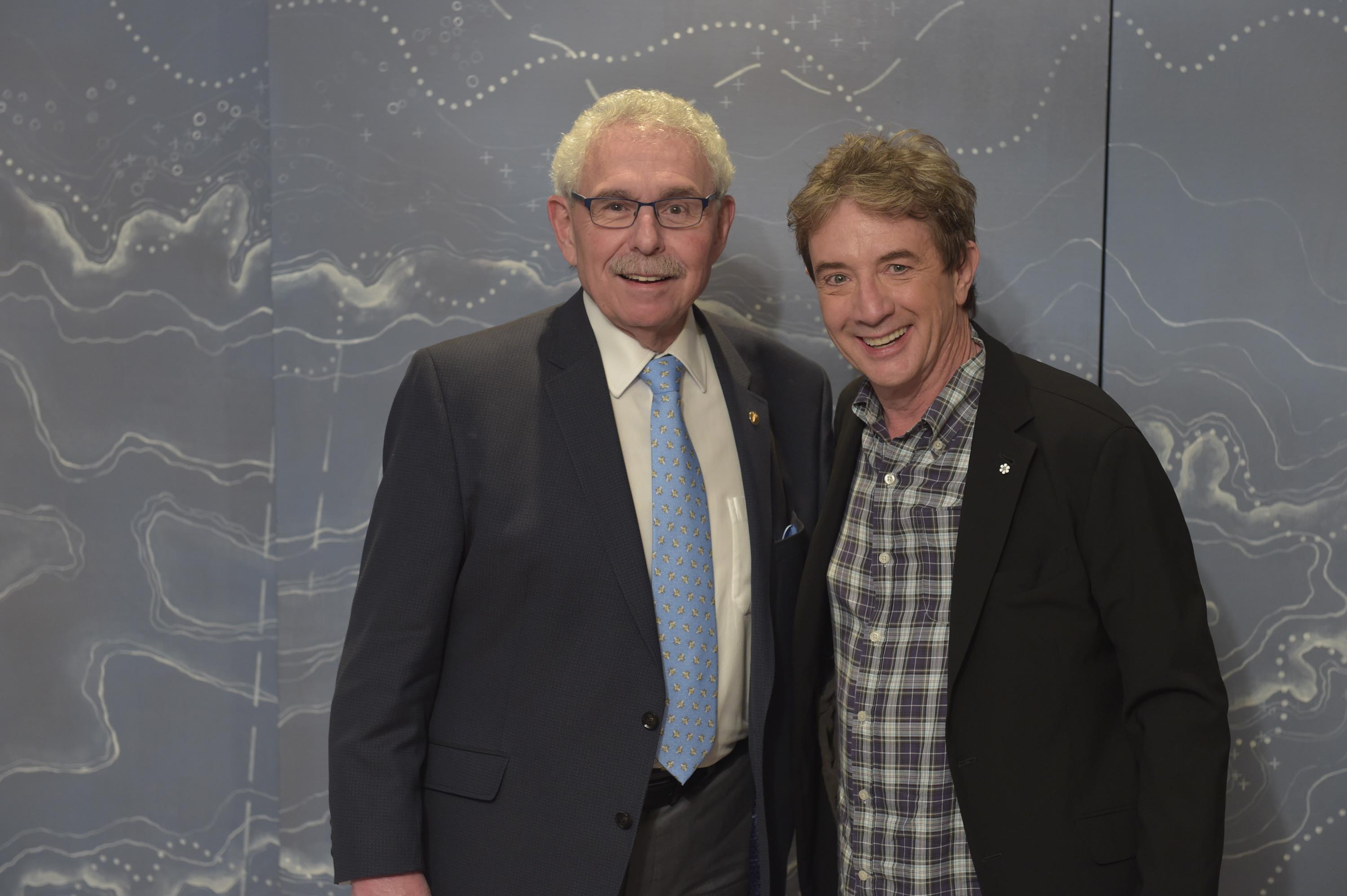 Dr. Bernie Gosevitz and Martin Short