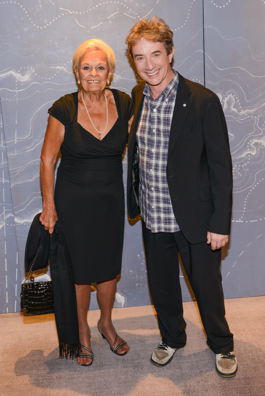 Mrs. Loretta Rogers and Martin Short