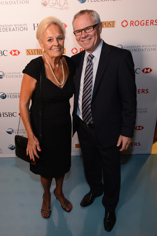 Mrs. Loretta Rogers and Rick Brace