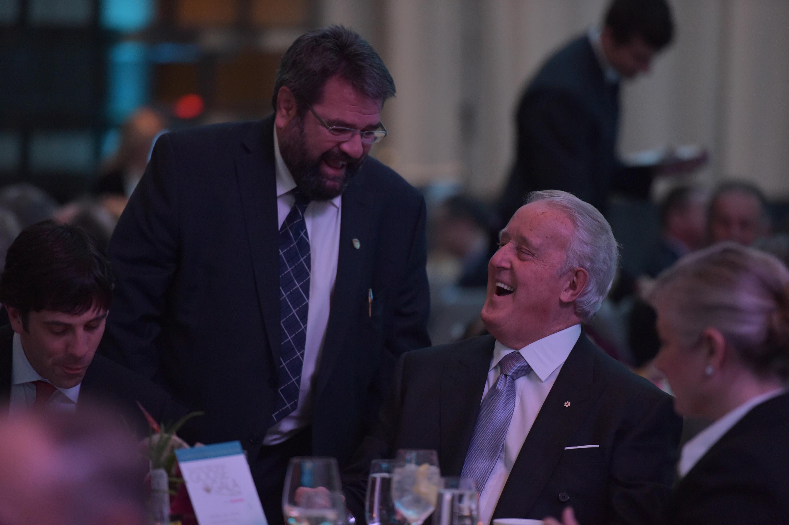 Nicolas Laurin and the Right Honourable Brian Mulroney