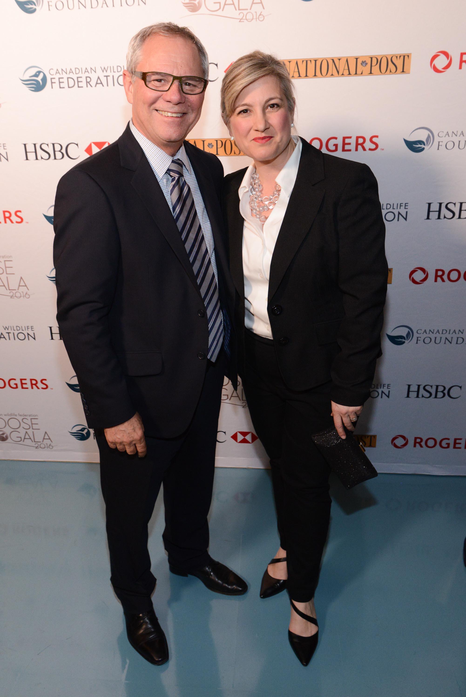Rick Brace and Louise Hanlon