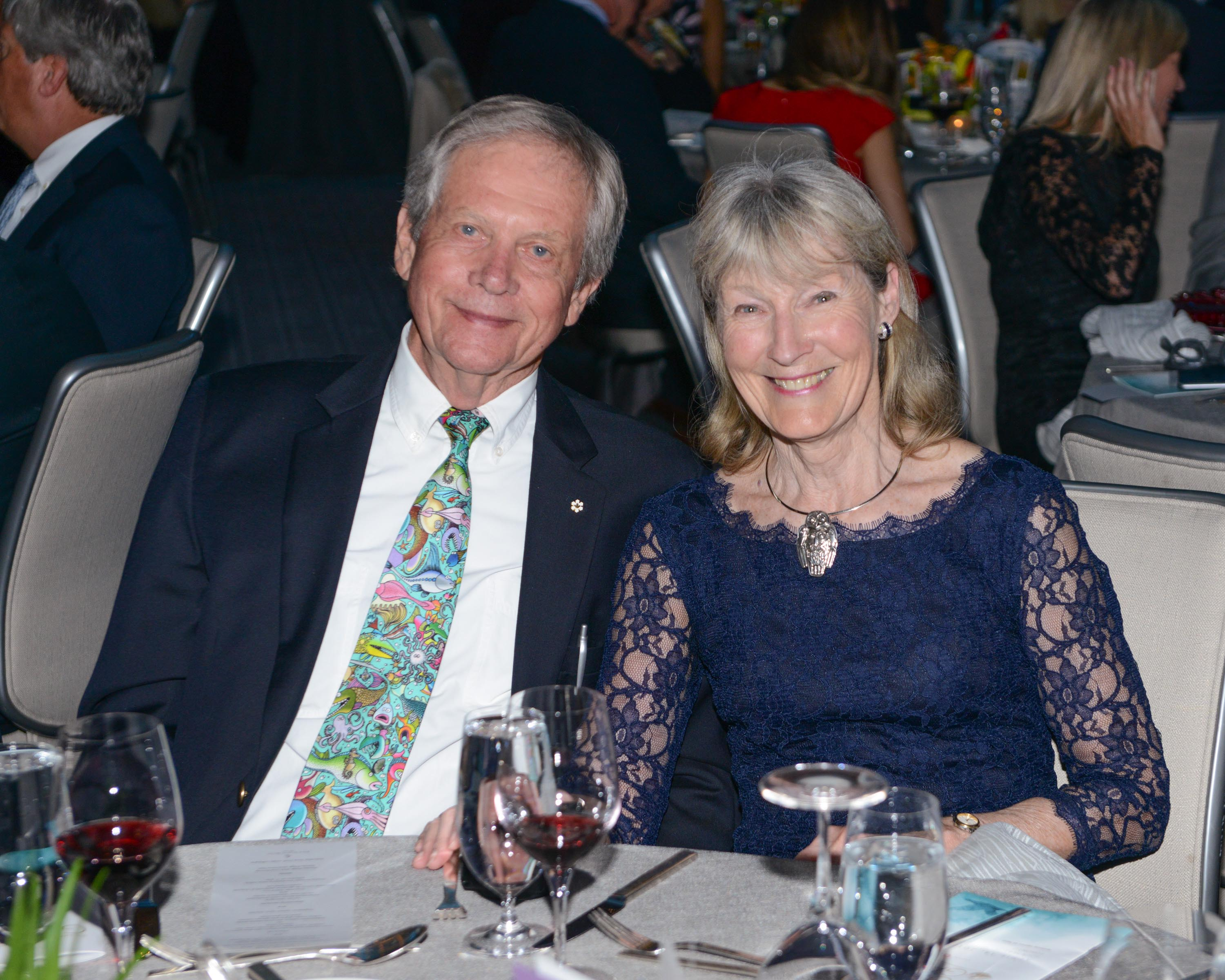 Robert Bateman and Birgit Freybe Bateman