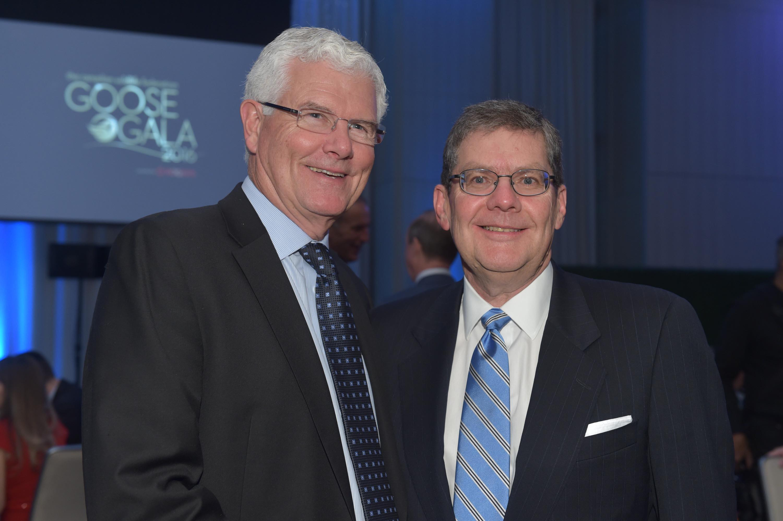 Robert Hines and Michael Daniher