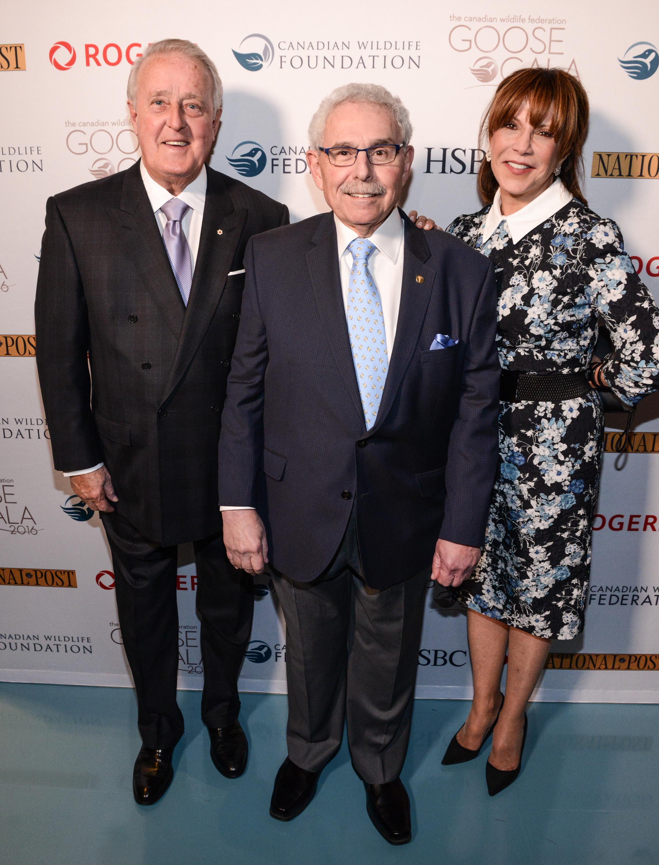 The Right Honourable Brian Mulroney, Dr. Bernie Gosevitz, Mila Mulroney