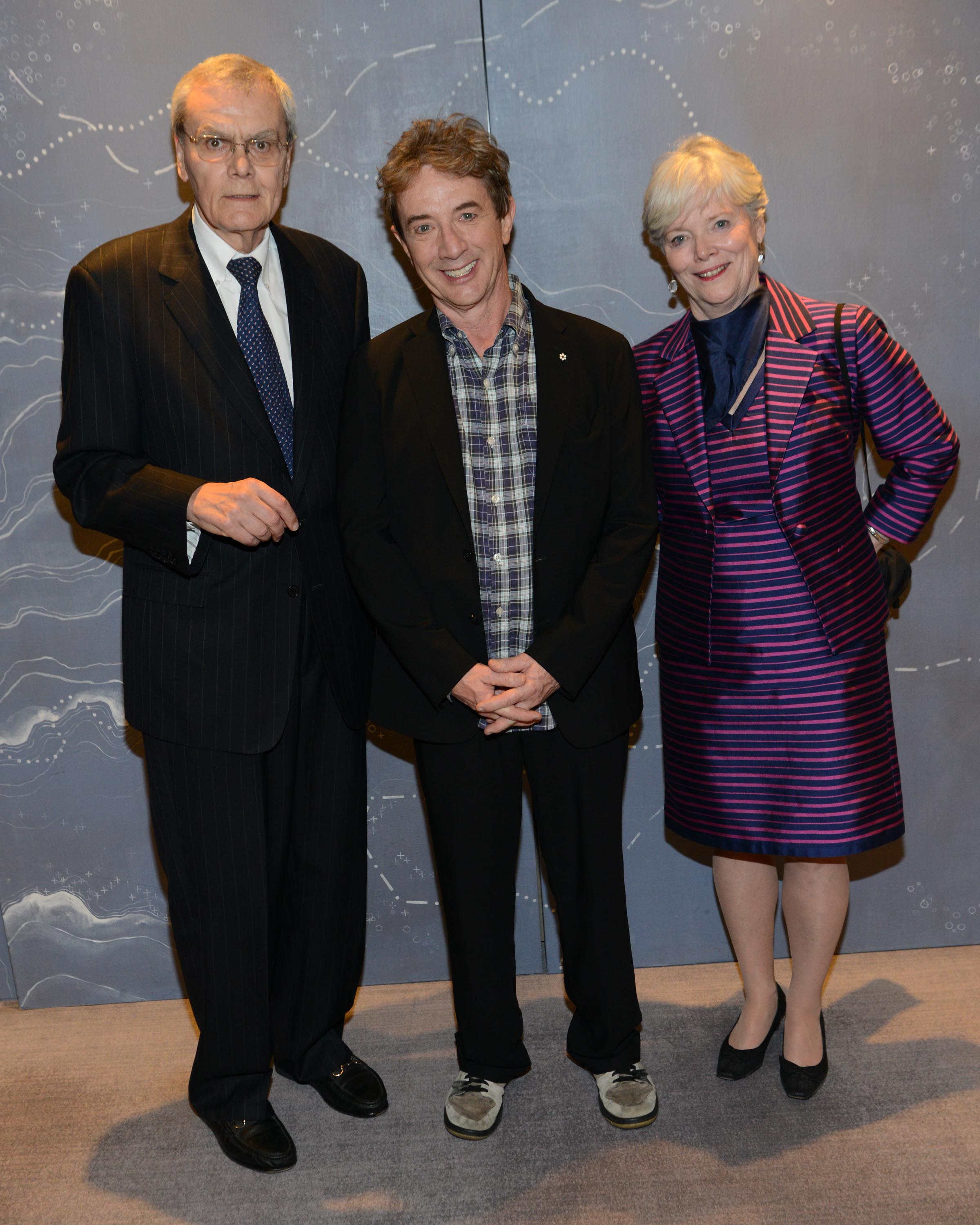 Tom and Sandy MacMillan, Martin Short
