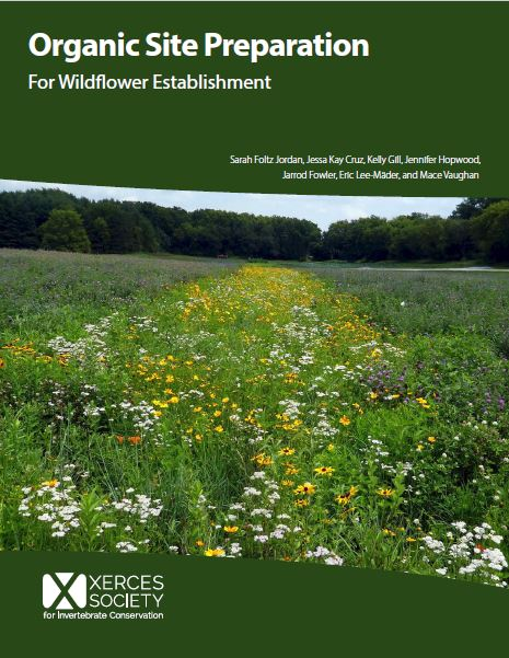 Organic Site Preparation for Wildflower Establishment