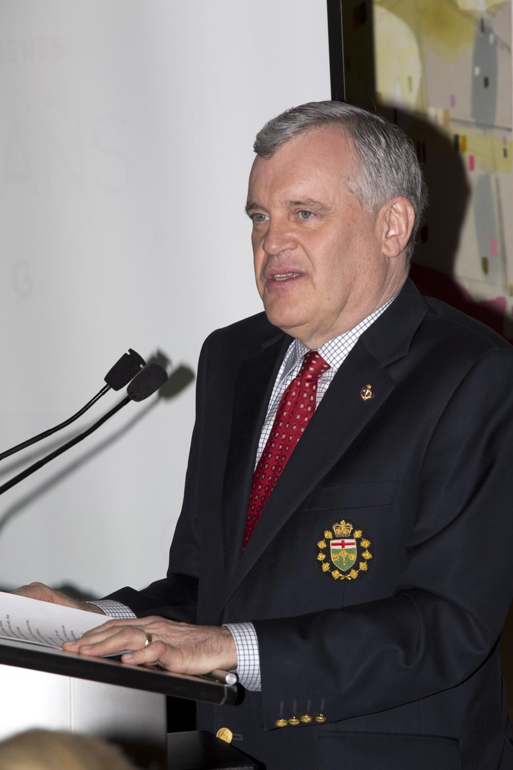 The Honourable David Onley, Lieutenant Governor of Ontario