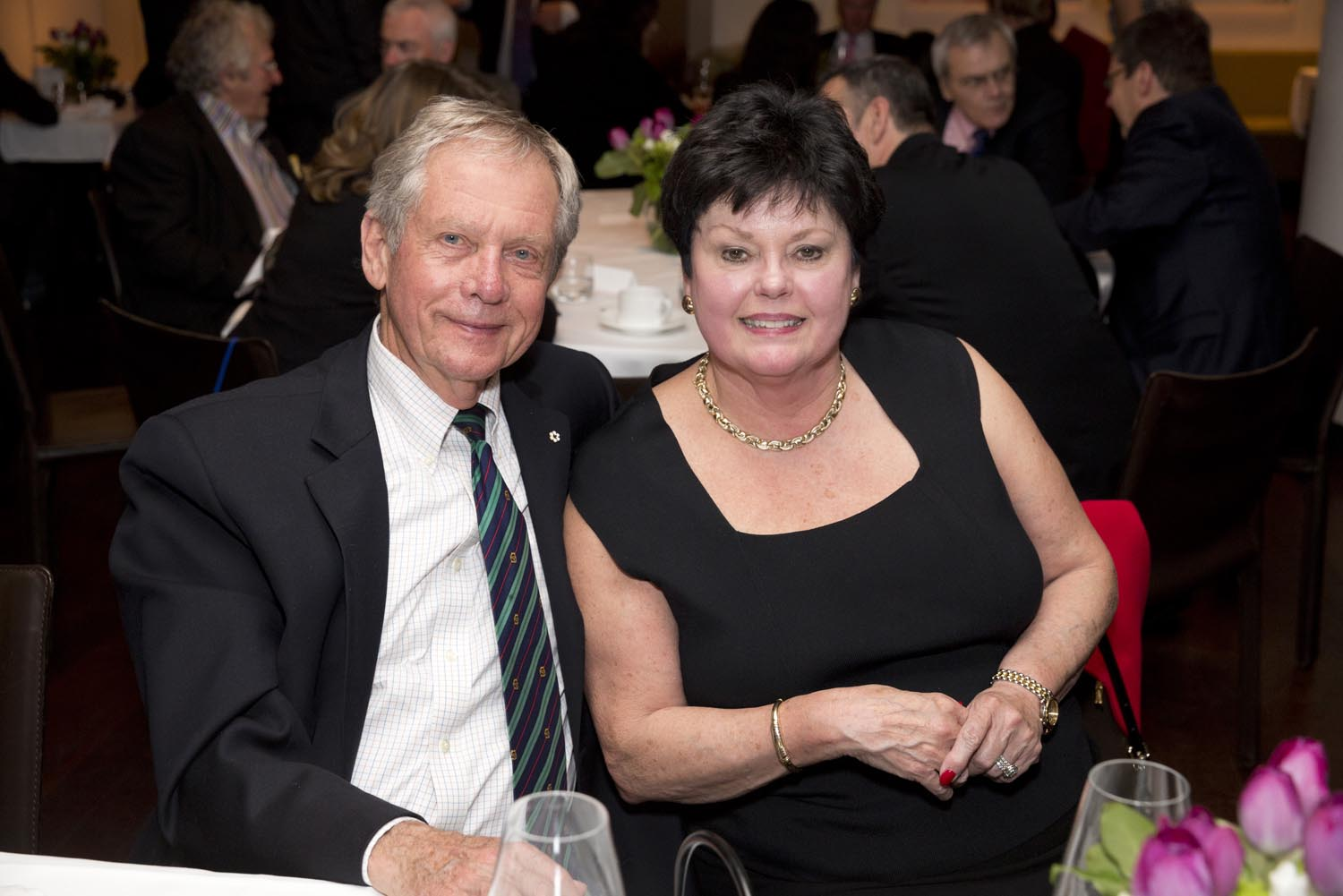 Mr. Robert Bateman and Mrs. Susan Gosevitz