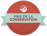 Conservation awards logo in french