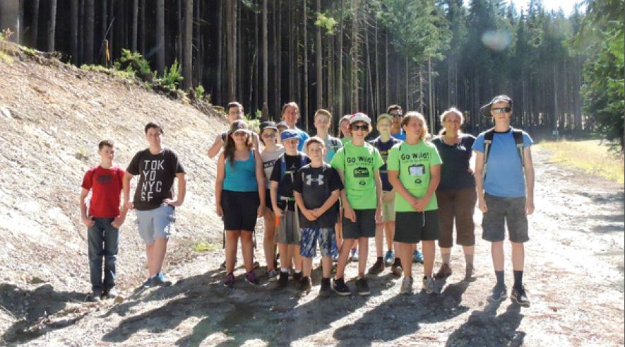 BCWF Go Wild! Youth for Conservation Camp