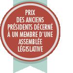 Prix des anciens présidents décerné à un membre d'une assemblée législative