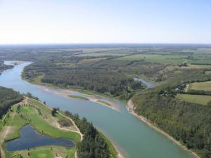 The North Saskatchewan River