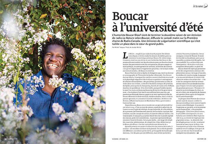 Article image with photo of Boucar Diouf