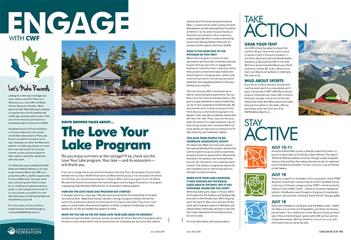 Engage news and updates cover