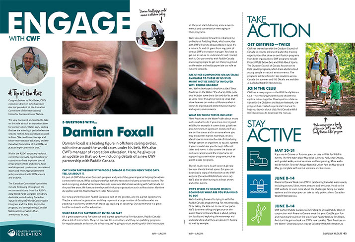 Engage newsletter cover