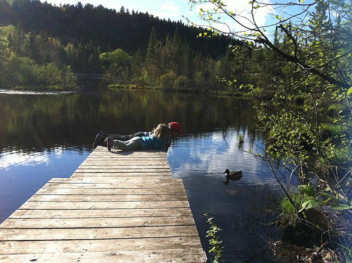 Kids at the lake damian foxall 715