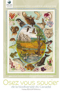 Front of Dare to Care Biodiversity Poster