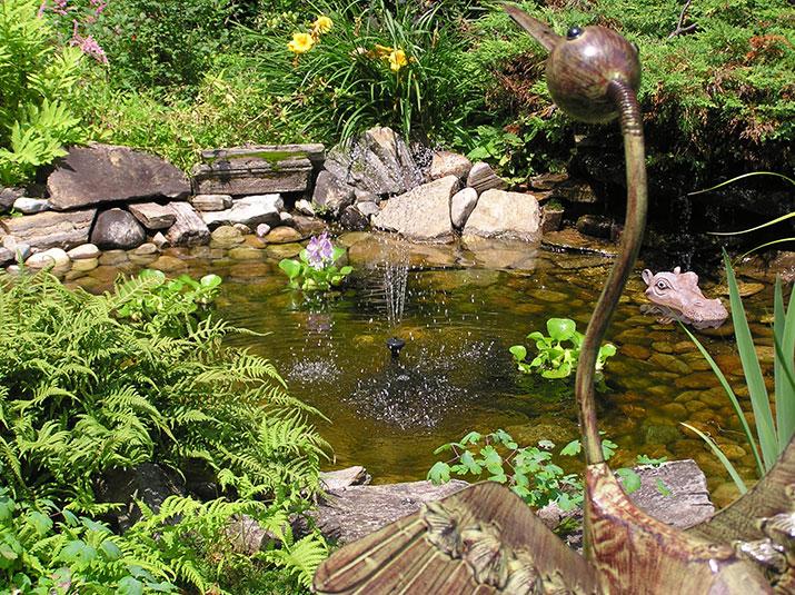 Lucie Ricard Garden in Quebec