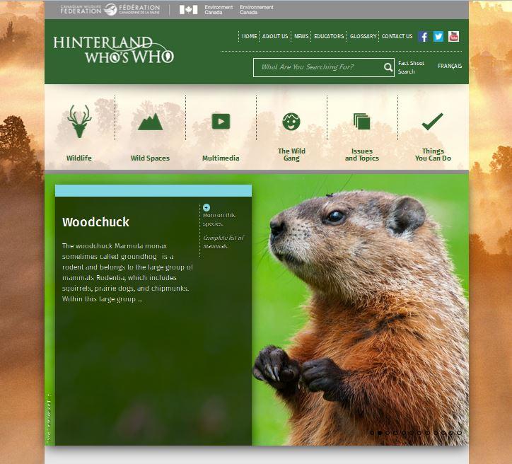 Hinterland Who's Who screenshot