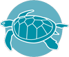 Leatherback turtle icon