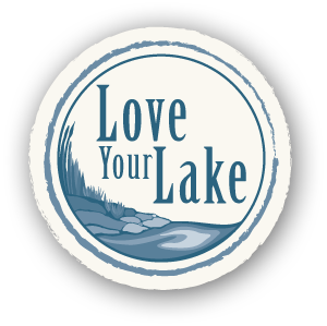 Love your lake logo