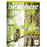 Magazine biosphere cover au courrant current shadow