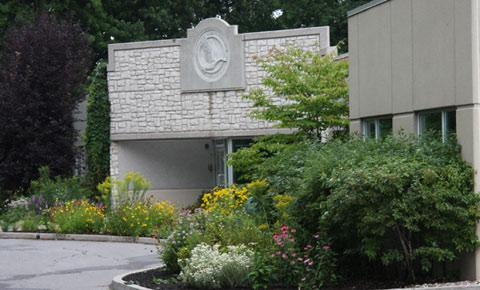 CWF front entrance garden