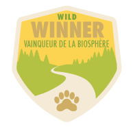 Wild winner badge