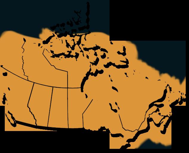 Human range map