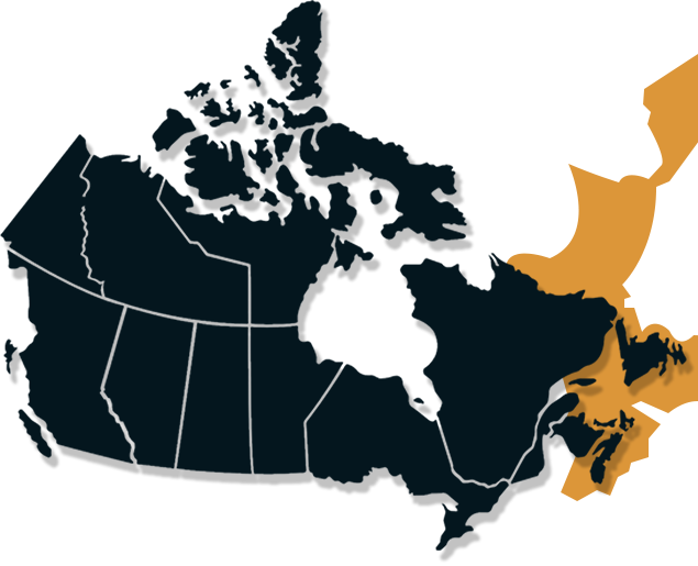 Atlantic Salmon range map