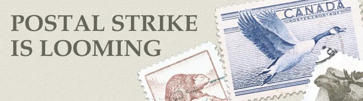 postal strike page header en