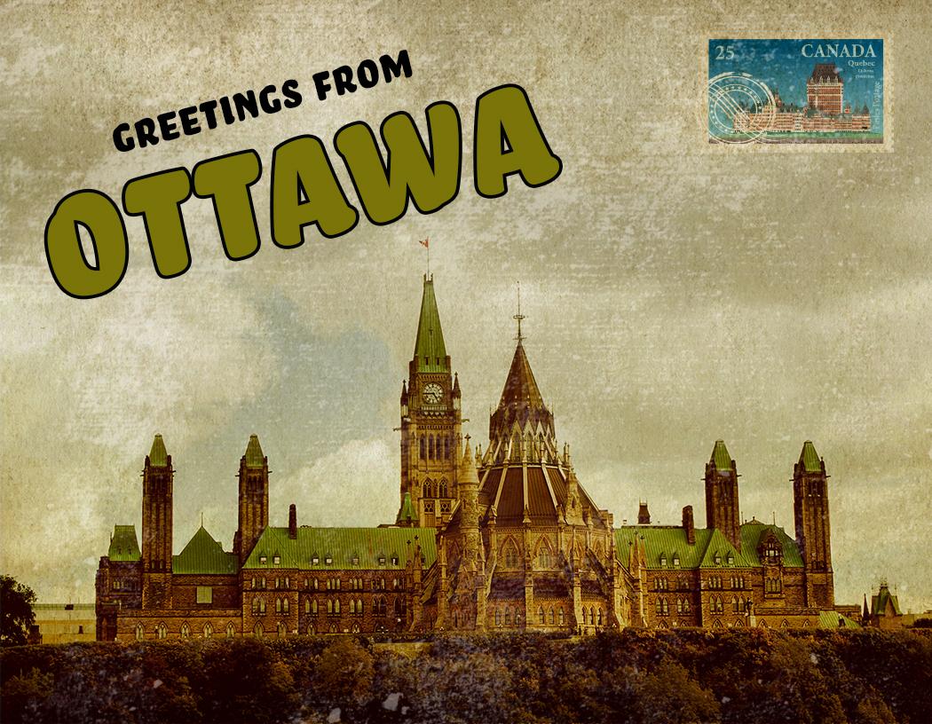 Greetings from Ottawa!