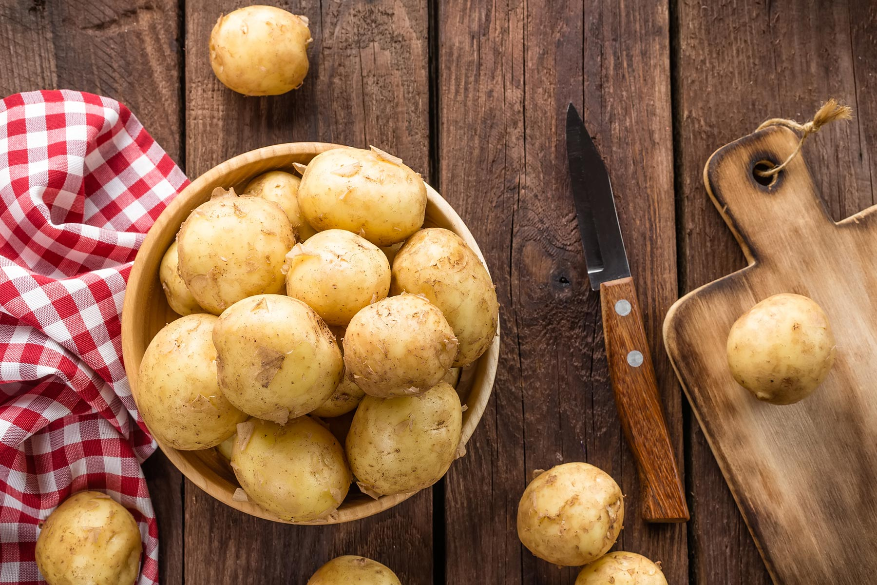potatoes basket