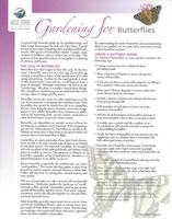 Gardening for Butterflies Handout