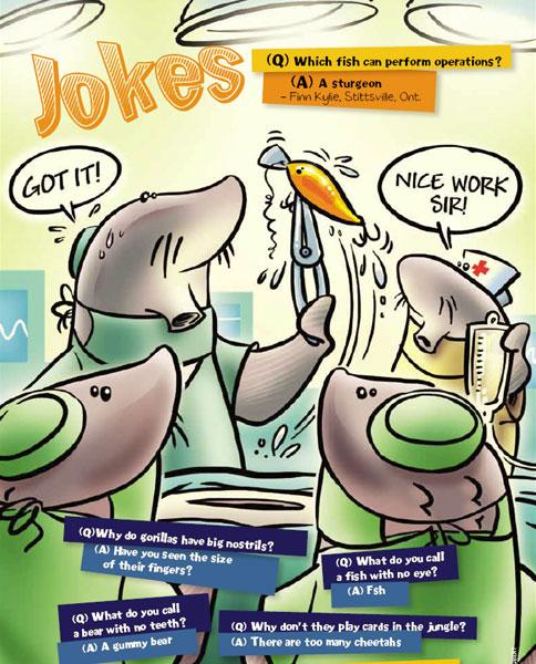 Image of a joke