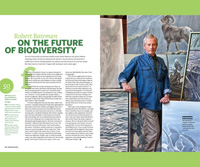 Article image with photo of Robert Bateman