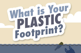 What is your plastic footprint banner