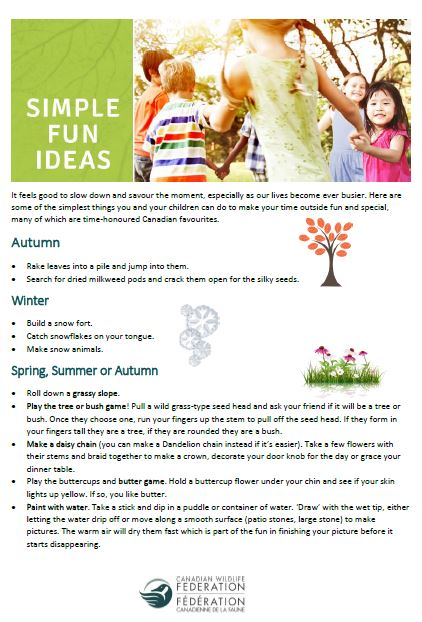 Simple, Fun Ideas to Get Kids Outside cover