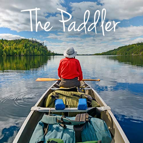 The Paddler banner