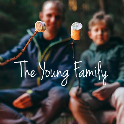 The Young Family banner